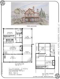 Cabin Floorplans Cliffside Cabin U2014 Rustic Mountain Homes Amicalola Home Plans