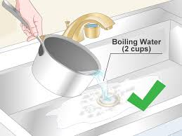 Tub Drain Stopper Stuck In Pipe by 5 Ways To Clean A Drain Pipe Wikihow