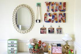 7 ways to decorate your kids u0027 rooms with cardboard letters ehow