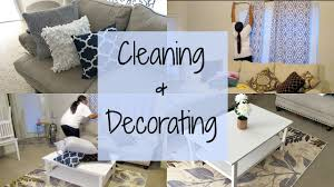 cleaning u0026 decorating the living room destiny u0027s life youtube