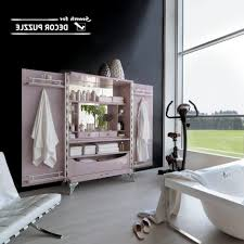 bathroom 60 inch bathroom vanity with makeup area double sink
