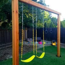 Backyard Swing Ideas Diy Backyard Swings Jacketsonline Club