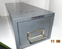Single Drawer Cabinet Steelmaster Etsy