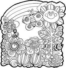 spring coloring sheets sunday school handouts spring coloring sheet christart com