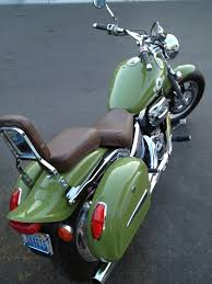 66 auto color army green motorcycle restoration with spray max