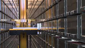 Strorage by Macquarie University Library Automated Storage And Retrieval