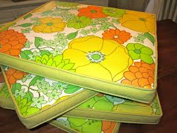 vintage patio chair cushions 60 u0027s 70 u0027s ebay trippy taco