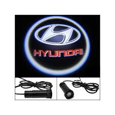 hyundai logo digitru car door shadow light logo for hyundai i10 led logo