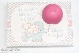 personalized baby shower favors elephant baby shower personalized mini candy bar wrappers