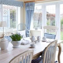 country dining room ideas dining room with gingham furnishings country dining room