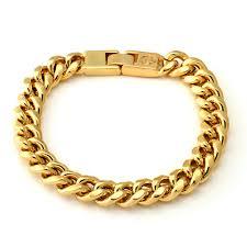 ebay silver bracelet charms images 10mm king ice 14k gold miami cuban chain bracelet kingice jpeg