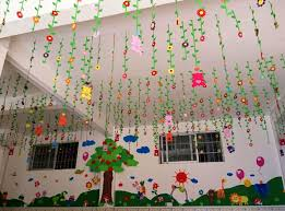 primary kindergarten class classroom decorations school corridor