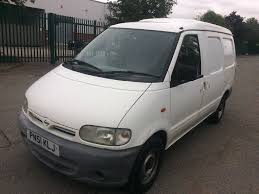 nissan vanette 2001 51 nissan vanette cargo 2 3 d low 87k no mot twin side doors
