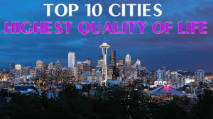 top 10 cities with highest quality of in usa