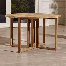 Sofa Table Crate And Barrel Regatta Round Drop Leaf Table Crate And Barrel