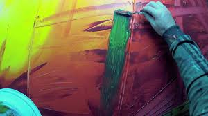 learn how to paint abstract painting with acrylics vitalba by john beckley you