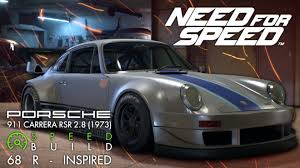 1973 rsr porsche need for speed porsche 911 carrera rsr 2 8 1973 68 r