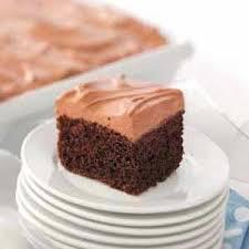 light peanut butter chocolate cake recipe taste of home