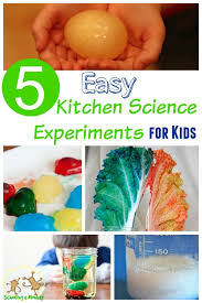 Plain Simple Kitchen Experiments For Kids Throughout Ideas - Simple kitchen science experiments