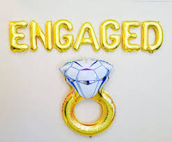 Congratulations Engagement Banner Best 25 Engagement Balloons Ideas On Pinterest Engagement Party