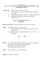 stats ch 3 worksheet
