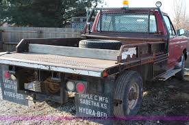 Hydra Bed 1990 Ford F250 Bale Bed Truck Item G5314 Sold May 7 Gov