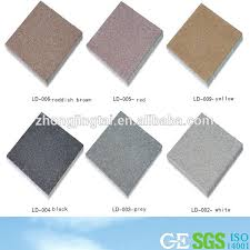 outdoor flooring material floor tiles permeable concrete brick