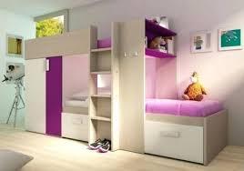 chambre fille pas cher lit superpose chambre 2 couchages combine mezzanine pour