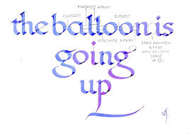 tracing paper for writing practice printable calligraphy practice worksheets bill s space the balloon is going up a lesson in spacing bill grant img
