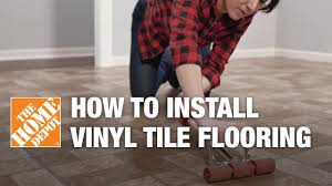 Peel And Stick Laminate Flooring How To Install Peel And Stick Vinyl Tile Flooring Youtube