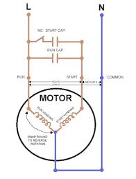 motor capacitor wiring wiring capacitor start motor u2022 arjmand co