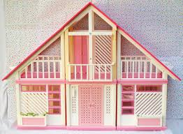 3 16 sold barbie dream house dollhouse pink and white a frame