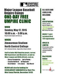 Milb Map Mlbuc In Chicago With The Milb Umpire Academy Minor League