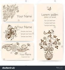 mehndi invitation wording sles invitation cards mehndi elements arabesque style stock vector