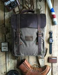 Rugged Leather Backpack Rugged Canvas And Leather Backpack Under 150 U2013 Savage Supply Company