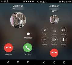 call for android how to get ios 8 dialer for android