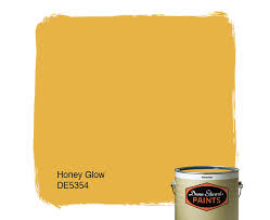 dunn edwards paints yellow paint color honey glow de5354 click