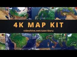 map kit videohive after effects template youtube