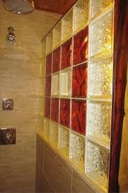 glass block bathroom ideas glass block bathroom window design mix up sizes to your