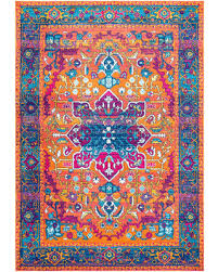 Neon Area Rug Don T Miss This Bargain Neon Snowflake Medallion Runner Area Rugs