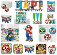 Super Mario Decorations Super Mario Party Ebay