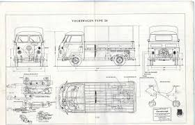 volkswagen bus drawing vw t1 bus type 26 1965 smcars net car blueprints forum