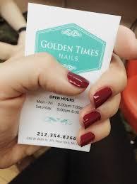 golden time sq nails u0026 foot spa 43 reviews nail salons 136 w