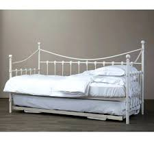 white metal daybed heart design baxton studio royale antique white