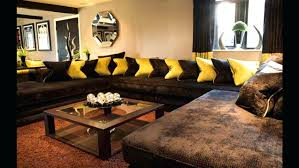 Living Room Ideas With Brown Leather Sofas Brown Leather Sofa With Fabric Cushions Adrop Me