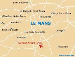 map of le mans le mans travel guide and tourist information le mans pays de la