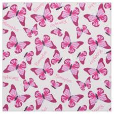 pretty girly feminine pattern fabric zazzle