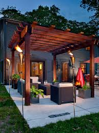Patio Cover Houzz - Backyard patio cover designs