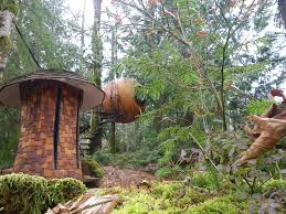 there s a spherical treehouse hotel in canada that is ultimate