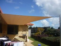 Backyard Shade Canopy by Fine Cloth Patio Covers Sail Swimming Shade Sails By Tenshon Llc